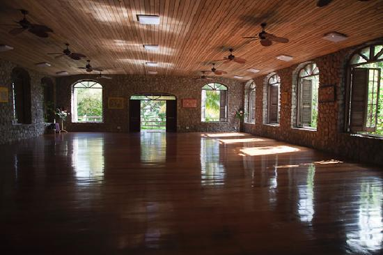 Jungle Bay, Dominica: Yoga room