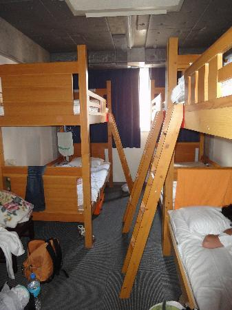Sakura Hostel Asakusa: Chambre dortoir de 6 lits