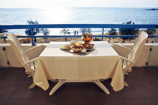 Hotel Mediterranee : balcony