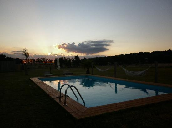 Miradores de Laguna Garzon: Atardecer en Miradores