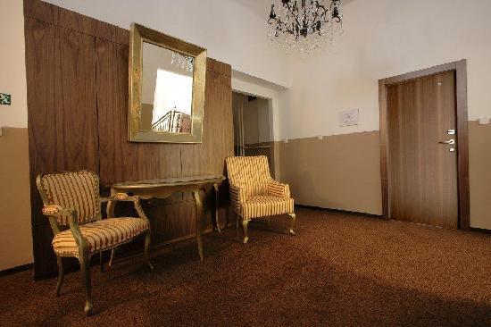 Hotel Villa Gloria Marienbad: Hotel area