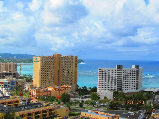 Bayview Hotel Guam: view from our balcony