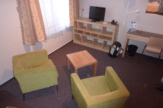 Pardubice, Czech Republic: Sitting area
