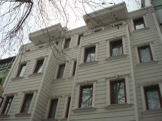 May Hotel Istanbul: façade de l'hotel