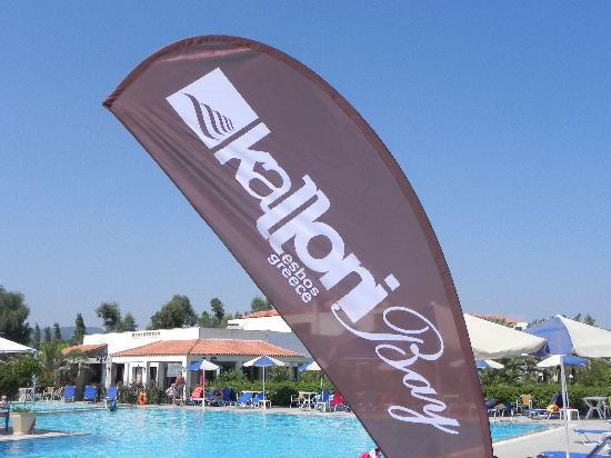 The Kalloni Bay Hotel: Außenansicht