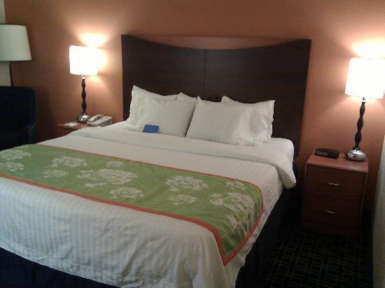 Fairfield Inn & Suites Kansas City Airport: inside room