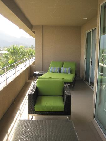 Penthouse Suite Balcony Picture Of Hyatt Regency Indian Wells