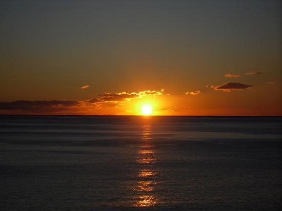 Hotel Kaktus Albir: Sunrise in Albir