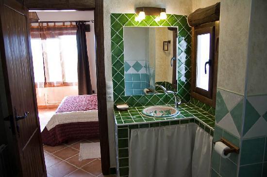 El Geco Verde: Particular de un baño