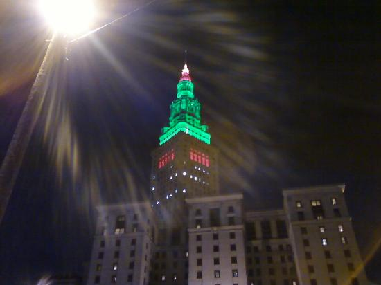 Cleveland, OH: Down town lights