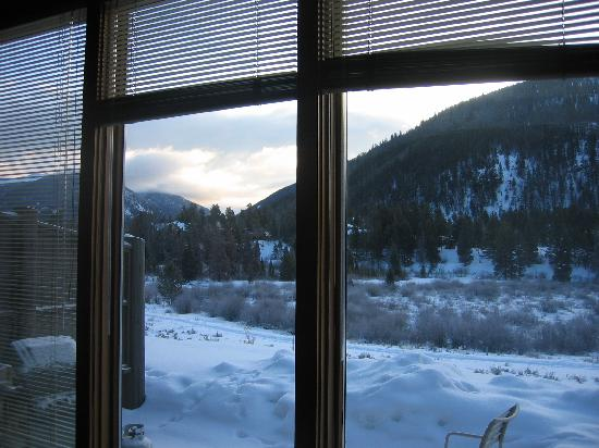 ‪‪Keystone Village‬: View from Homestead condo toward Keystone slopes‬
