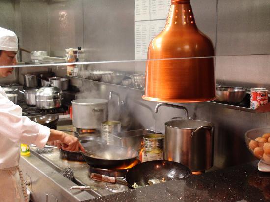 Sukhothai Harrogate: open kitchen