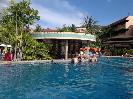 Phuket Orchid Resort: There was some daily activity on the pool area, such as swimming pool water ball.