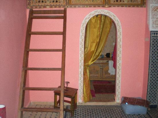 Riad Safir : chambre Safran