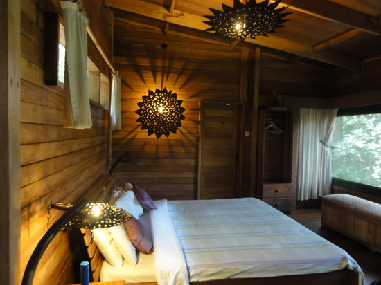The RainForest Lodge: Beautifully furnished rooms