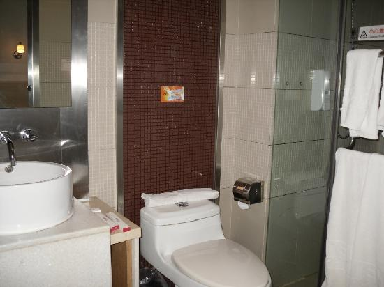 Motel 168 (Shanghai The Bund): Baño