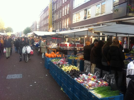 Albert Cuyp Market: Fresh fruit and veg