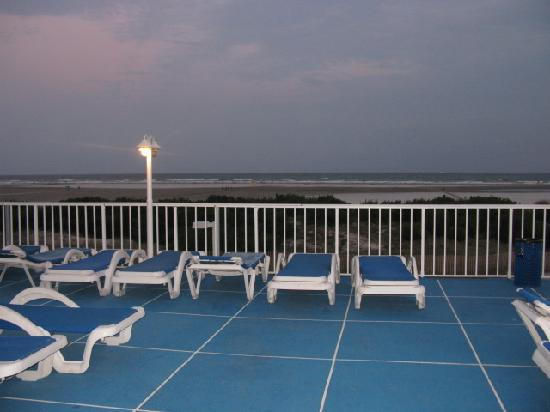 Wildwood Crest, NJ: deck