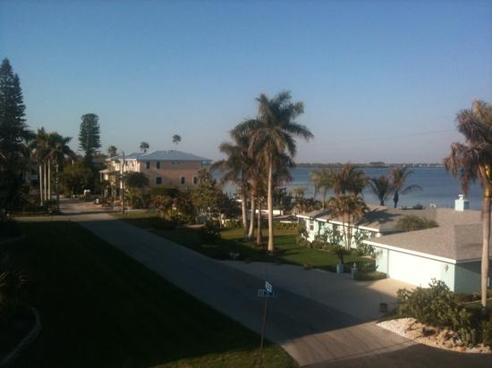 Anna Maria Island, FL: bay view behind our condo