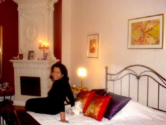 mittendrin: Angekommen im Romantikzimmer