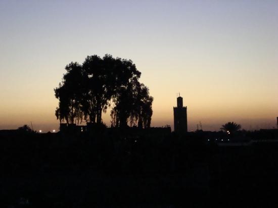 Riad Al Mansoura: vistas desde el road