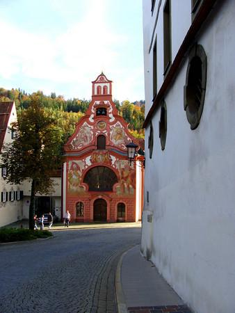 Fussen, Germany: beautiful buildings around every corner