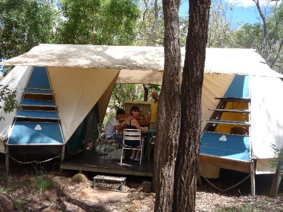 Undara Experience: Our tent