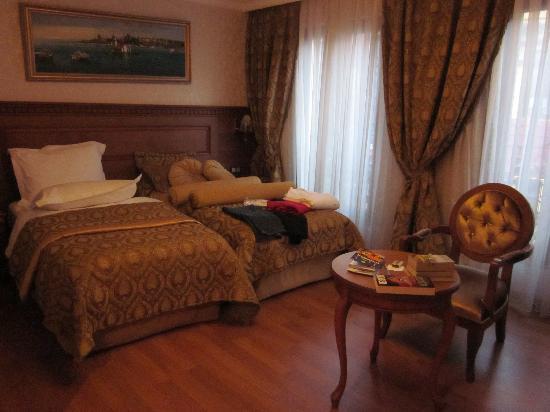 Senatus Suites: My room