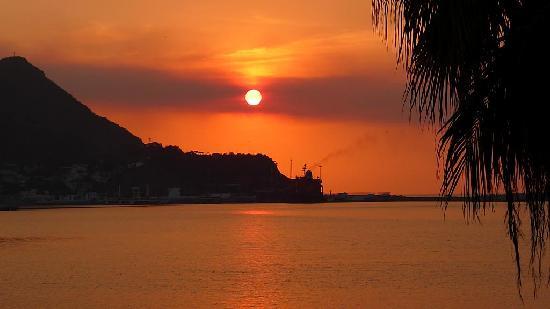 Hotel La Posada: Sunset