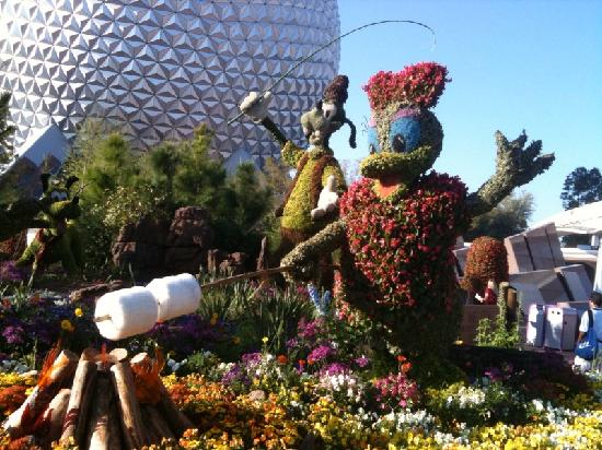 Epcot International Flower Festival Spring 2010