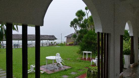 Baia Norte Beach Club : view from hotel corridor