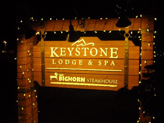 Inn at Keystone: Front sign