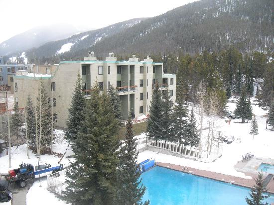 Inn at Keystone: view from balcony