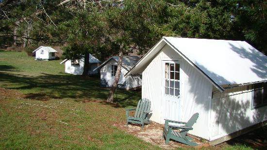 Costanoa coastal lodge camp updated 2018 prices for Permanent tent cabins