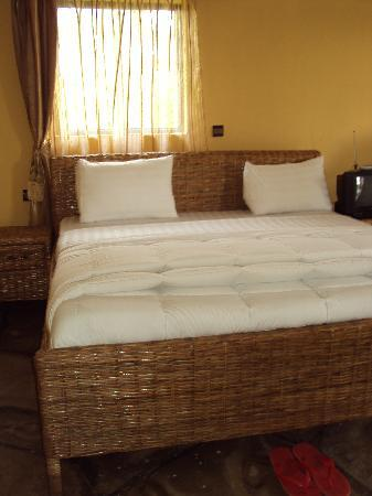 furniture made from bamboo. Le Bambou Gorilla Lodge: Bamboo Furniture Made By The Local Ladies From