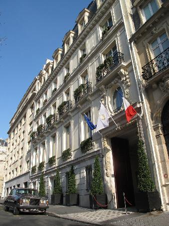 InterContinental Paris-Avenue Marceau: facade