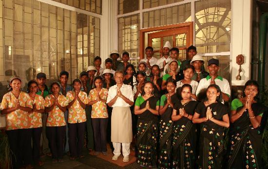 Balipara, الهند: Staff