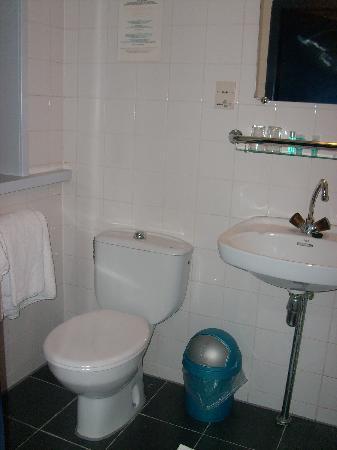 Hotel De Looier: il bagno