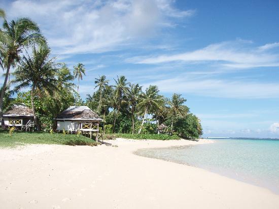 Tanu Beach Fales: Tanu Beach
