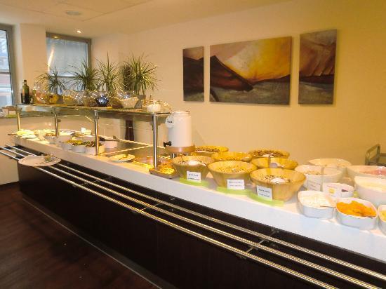 Hostel Köln: desayuno