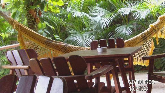 Mansion VillaVerde - Pousada & Vacation Rentals: die terrasse
