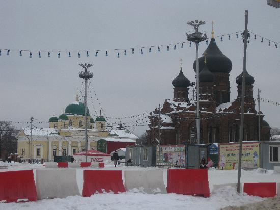 Tula, Ryssland: il cremlino