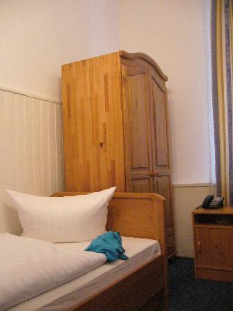 Gasteiner Hof: Single room, clean and comfortable