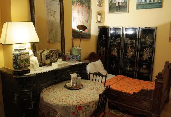 Hotel Les Bluets: Chambre