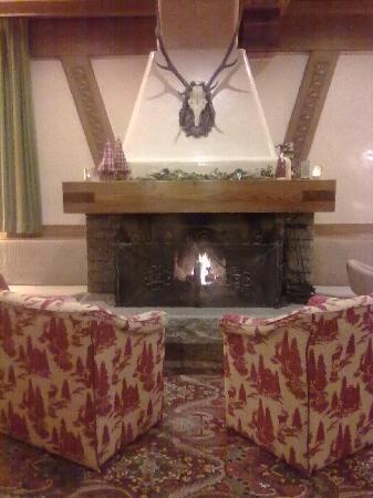 Hotel Pinzolo Dolomiti: il camino
