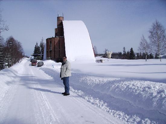 Tatranska Javorina, Eslovaquia: sehr viel Schnee