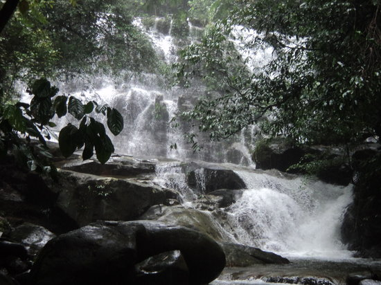 Kuching, Malásia: Waterfall