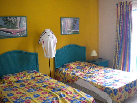 Hotel Los Delfines: Die Betten