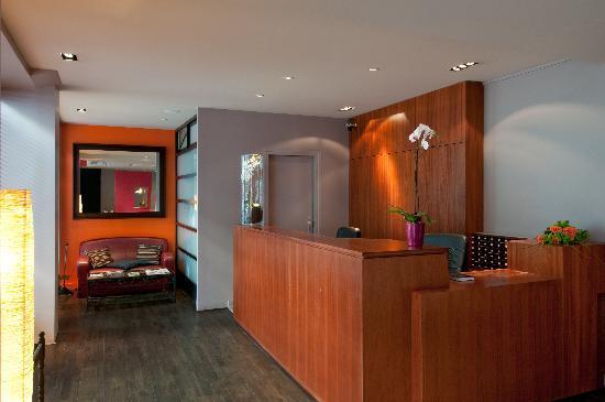 Hotel B Paris Boulogne : Reception