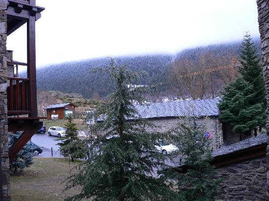 Neilson Chalet Hotel Casale : View from room on cloudy day